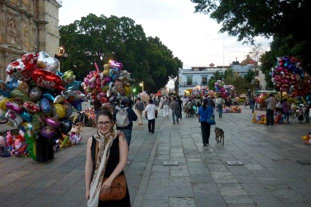 Camille à Oaxaca