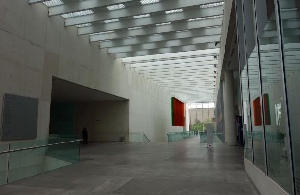 dans le hall du MUAC Mexico
