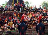 Offrandes coq Ayutthaya