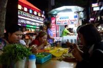 La street food sur Victory Monument